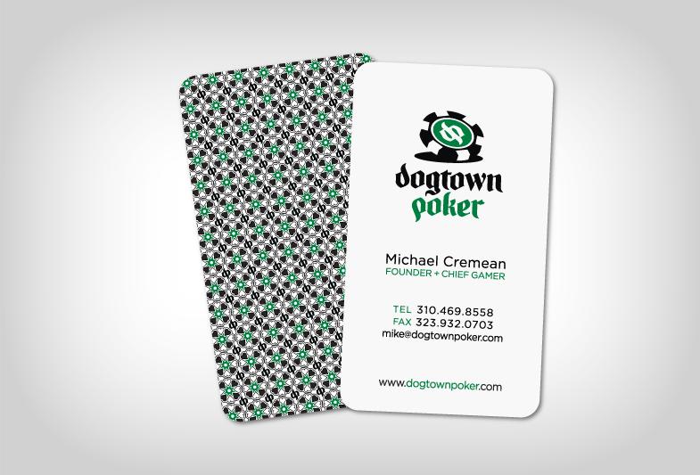 Dogtown Poker Business Card