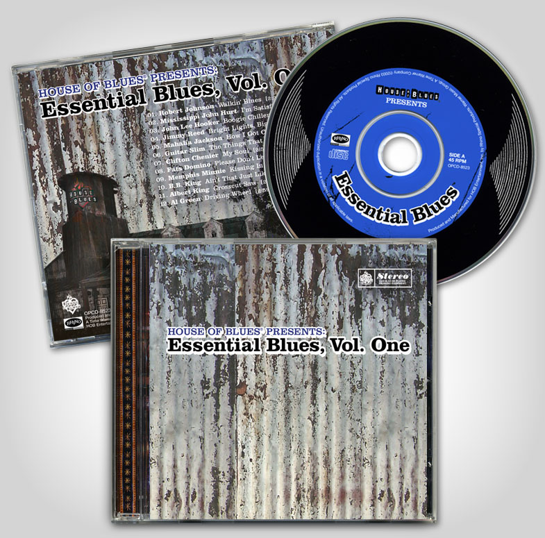 "House of Blues ""Essential Blues Vol. 1"""