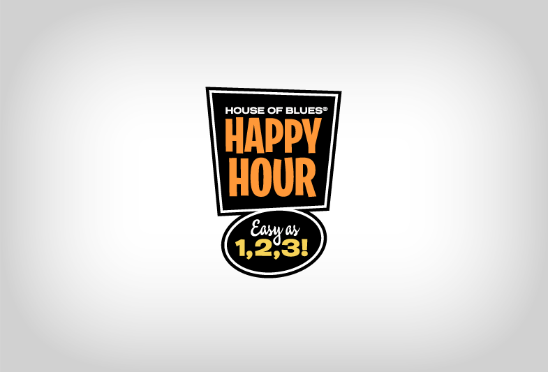 House of Blues Happy Hour 1-2-3