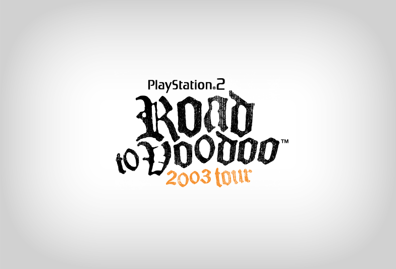 PlayStation 2 Road to Voodoo Logo