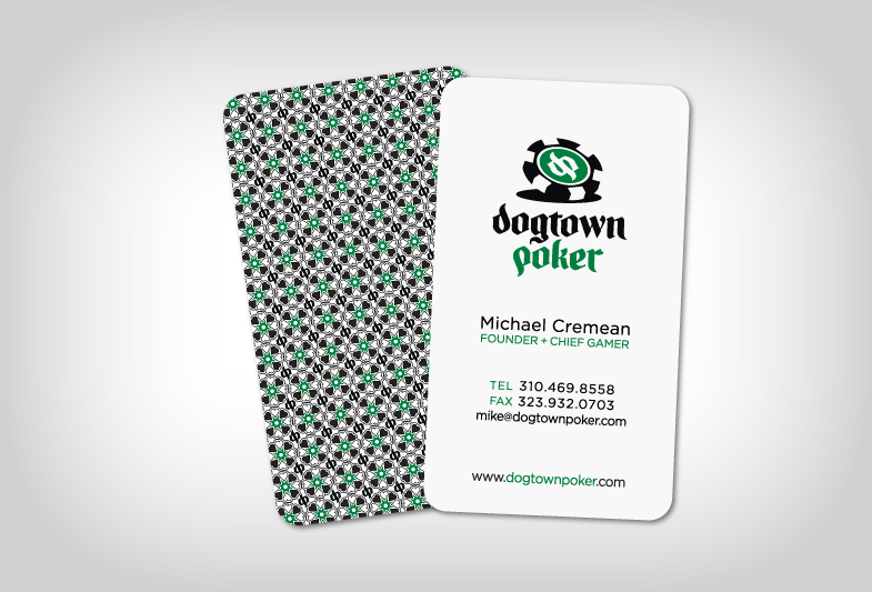 Dogtown Poker Business Card