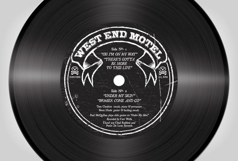 "West End Motel 7"" Label"